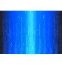 binary abstract background vector image vector image