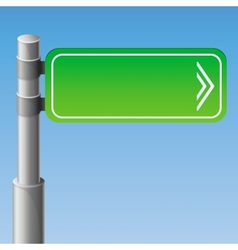 street road sign vector image
