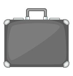 Briefcase icon cartoon style vector