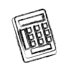 Calculator utensil work counting maths vector