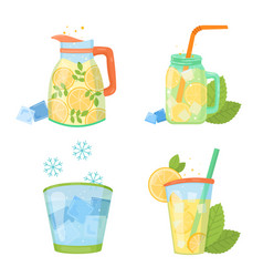 Cooling things for summer vector