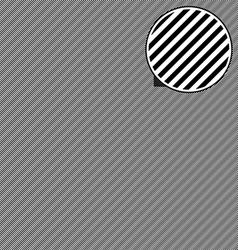 Diagonal lines seamless pattern vector