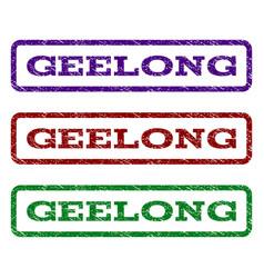 Geelong watermark stamp vector
