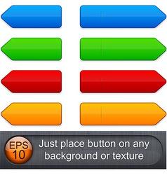 High-detailed modern buttons vector