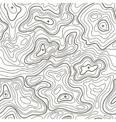 Landscape Topographical Map Line Background vector