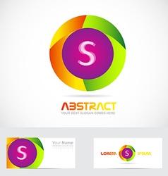 Letter S logo vector image