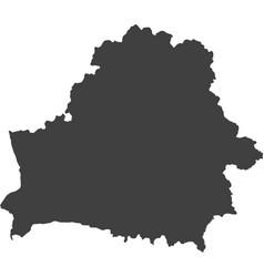 Map of belarus vector