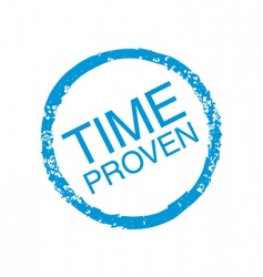 time proven vector image