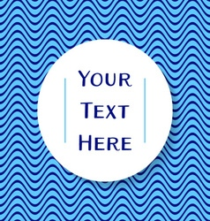 Place for your text vector image vector image