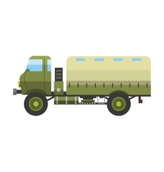 Military vehicle vector image