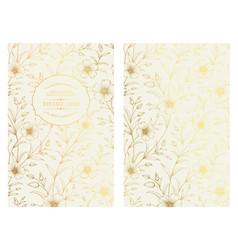 white invitation card design vector image