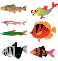 Animal aqua aquarium vector