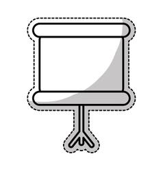 chalkboard icon image vector image