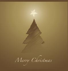 christmas tree-05 vector image