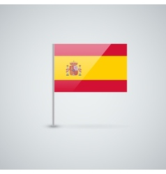 Flag of Spain vector image