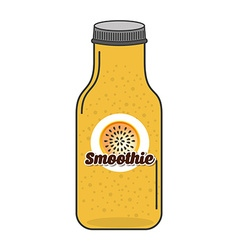 smoothie fruit vector image