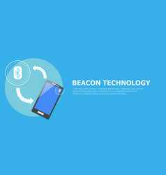 the beacon boom fitting vector image