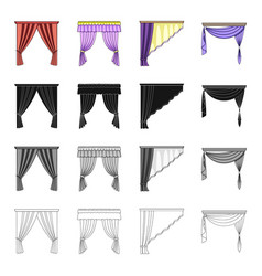 design frills textiles and other web icon in vector image