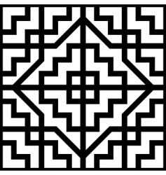 Celtic ornament background vector image vector image