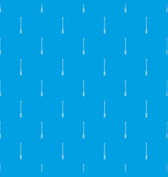 arrow pattern seamless blue vector image
