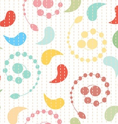 colorful pattern Geometric vector image vector image