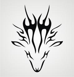 Deer Tribal vector