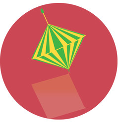 icon toy whirligig vector image