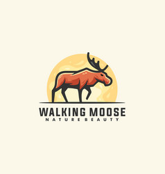 moose concept designs template vector image