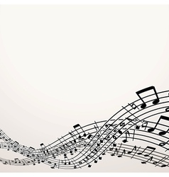 Musical Background Image with Free Space vector image