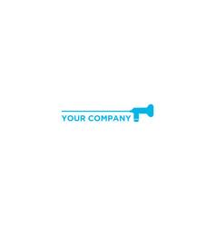 scope medical logo design vector image
