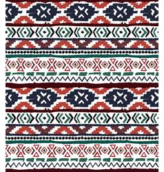 seamless geometric pattern ethnic aztec tropical vector image