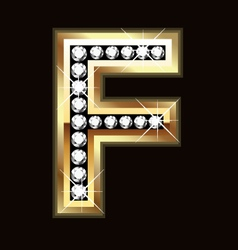 f bling vector image