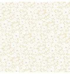 lace pattern with pearls vector image vector image