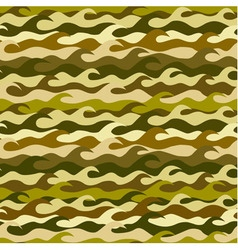 Seamless pattern made from sea waves vector image