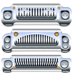 Car front end vector
