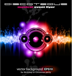 high tech music vector image