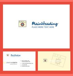 website programming logo design with tagline vector image