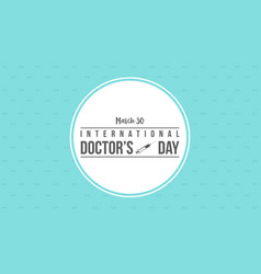 Doctor day celebration design collection vector