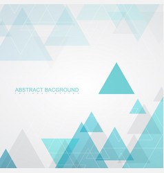 Abstract background textures by turquoise triangle vector