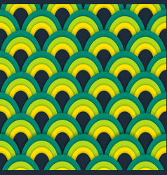 asian seamless abstract pattern vector image