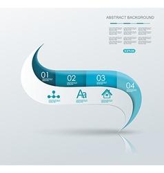 Minimal Timeline or Option Line design vector image