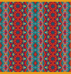 tribal vintage abstract geometric ethnic seamless vector image