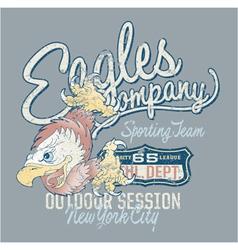 Eagles Company vector image vector image