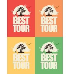 tour best 02 vector image