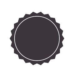 badge stamp seal icon vector image