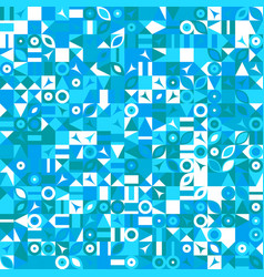 Colorful chaotic random mosaic pattern background vector