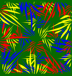 pattern of kaleidoscopic ornaments of bright vector image