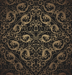 floral seamless ornament vector image vector image