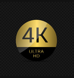 4 k ultra hd vector