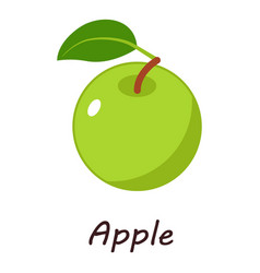 apple icon isometric style vector image